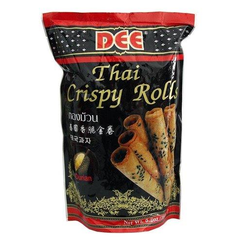 Dee Thai Crispy Rolls- Durian 150g Best Before 12/19