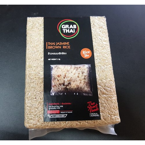 Grab Thai Brown rice 1Kg