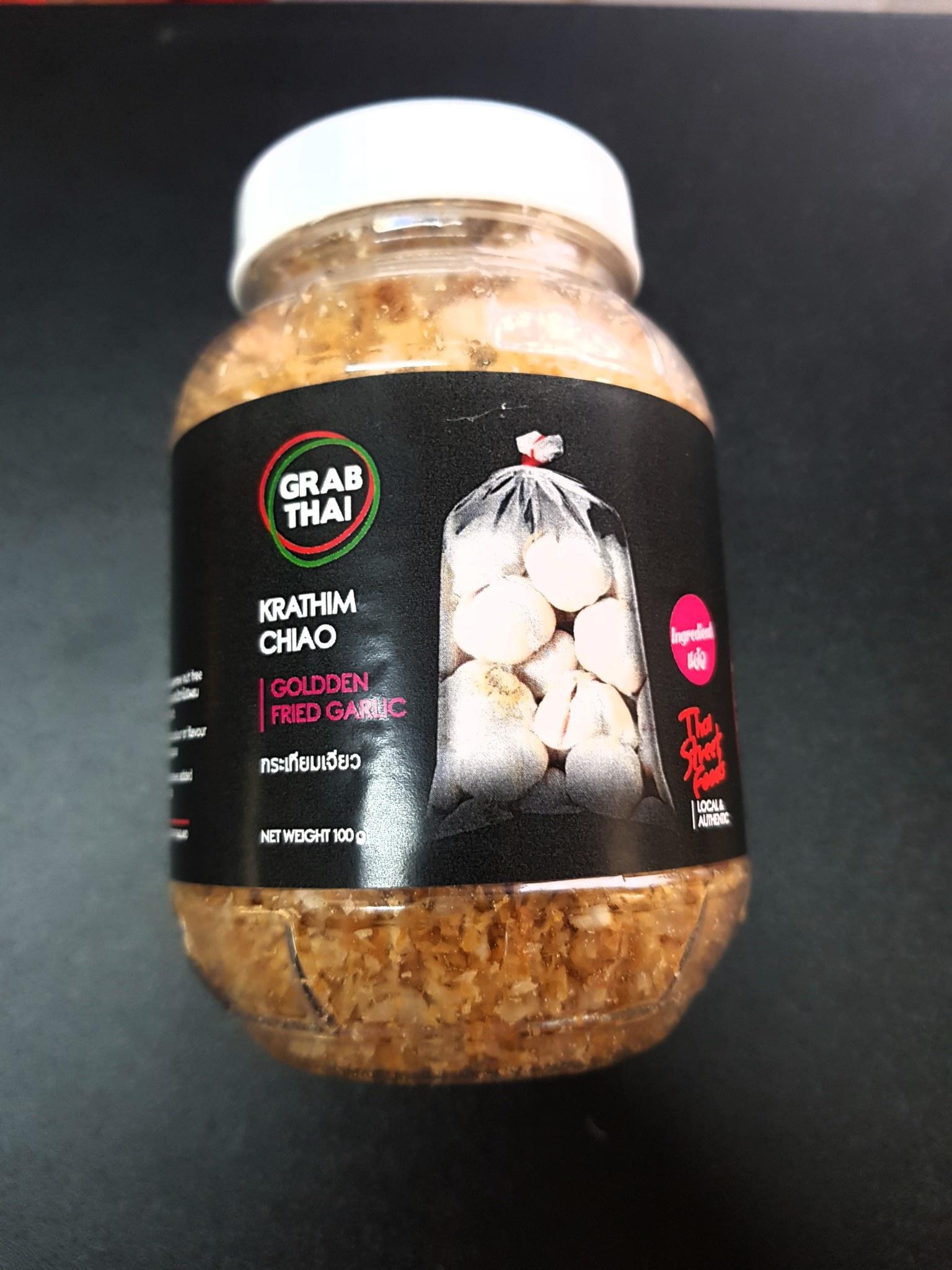 Thai Fried Garlic Oil | Recipe in 2020 | Garlic oil recipe ... |Thai Fried Garlic