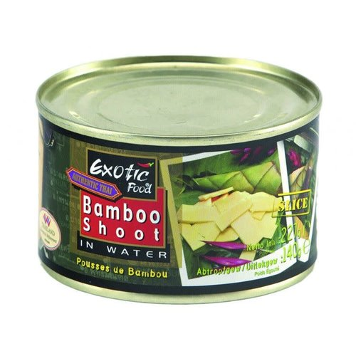 Exotic Food Bamboo Shoots Sliced  227g Sliced
