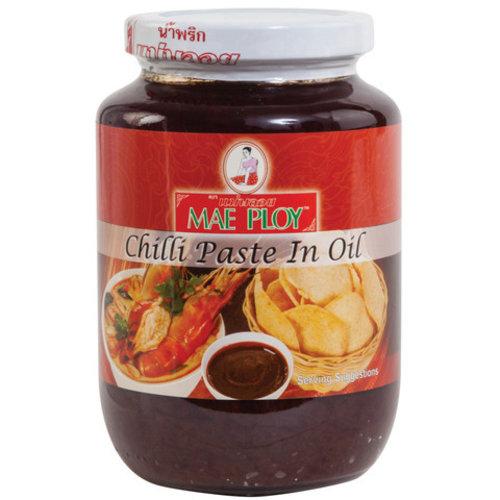 Mae Ploy Chilli Paste in Oil 250g