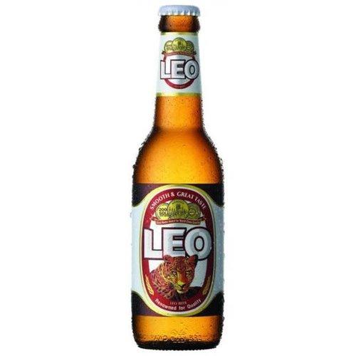 Leo Thai Leo Beer Bottle 320ml (Order 4 bottles and get a FREE Leo Glass)