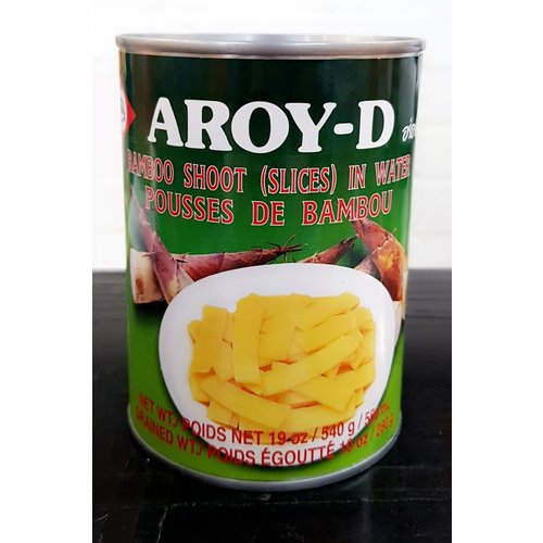 Aroy D Bamboo Shoot- Slice 540g