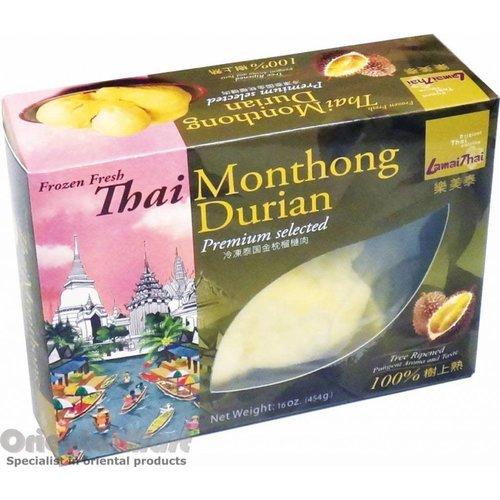 Buono Lamai Thai Frozen Durian Monthong 454g