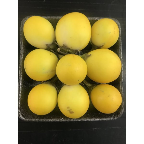Yellow Eggplant / Aubergine 200g