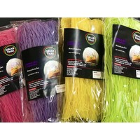 Grab Thai Dried Herbal Coloured Rice Vermicelli 200g