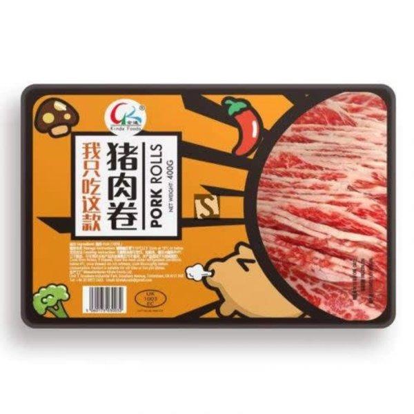 Kinda Foods Pork Rolls 400g