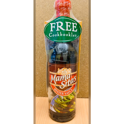 Mama Sitas Oyster Sauce 405g Special Offer With Free Cookbooklet