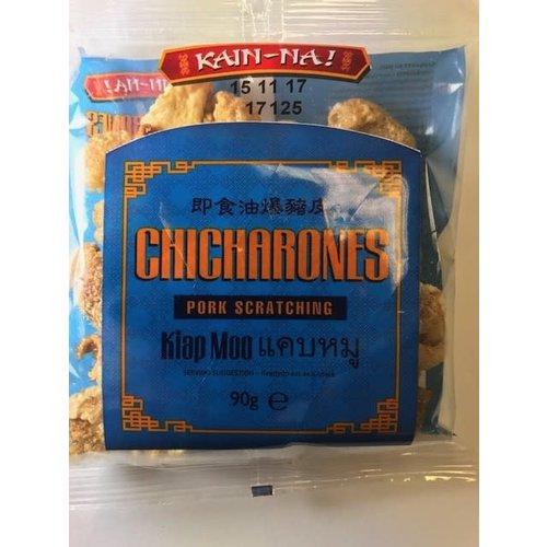 Kain Na Chicharones - Pork Scratching  90g Best Before 12/19