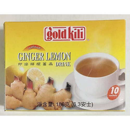 Gold Kili Ginger Lemon Drink 180g (10 Sachets)