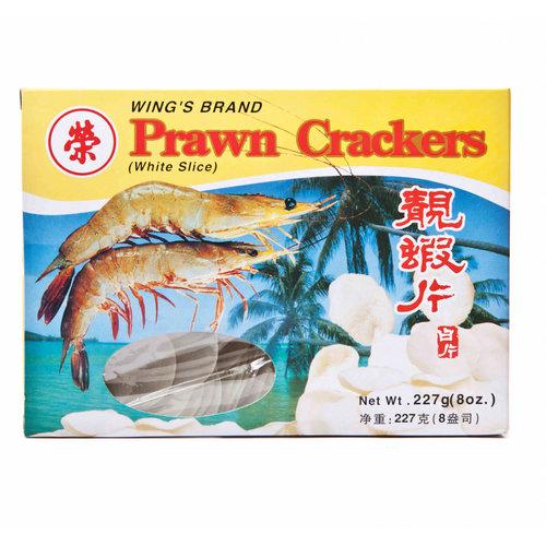 Wings Brand Prawn Crackers (White) 227g
