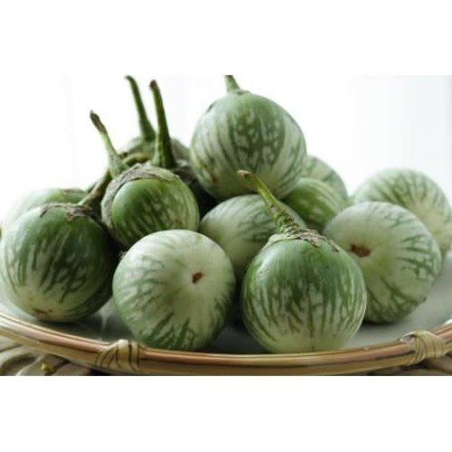 Round Eggplant (White Aubergine) 200g