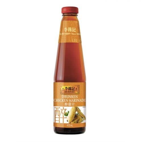 Lee Kum Kee Drunken Chicken Marinade 410ml Best Before 04/18
