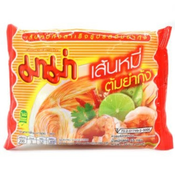 Mama Instant Rice Vermicelli -Hot & Spicy Tom Yum Koong 1x55g
