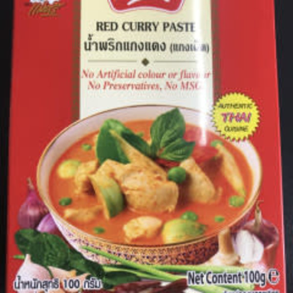 Maesri Red Curry Paste 100g Best Before 12/19
