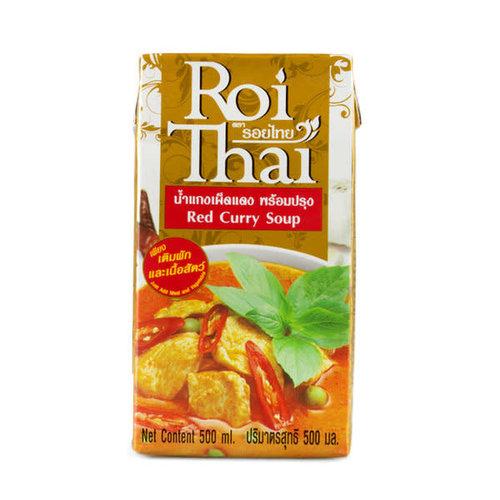 Roi Thai Red Curry Soup 500ml