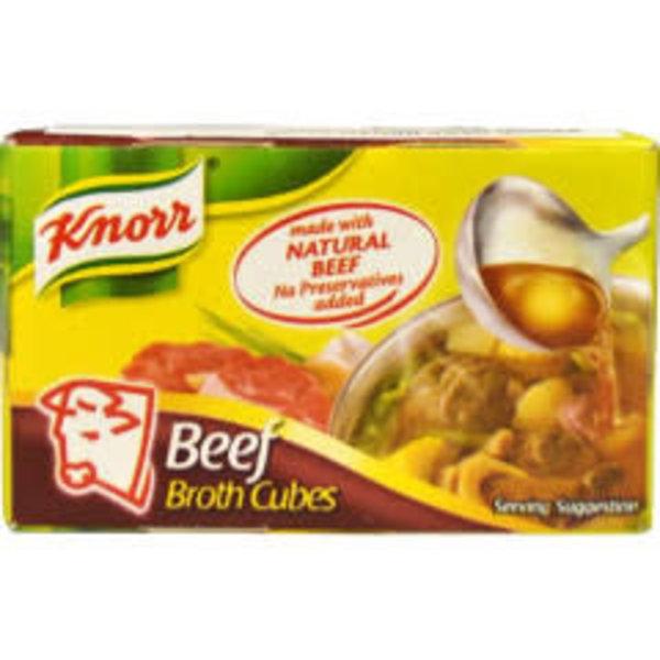 Knorr Broth Cube - Beef 20g Best Before 06/19