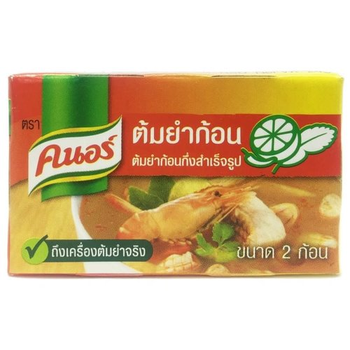 Knorr Shrimp Broth Cubes Tom Yum Soup Best Before 08/18