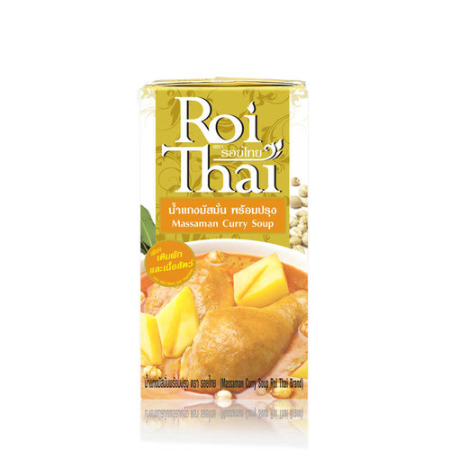 Roi Thai Massaman Curry Soup 500ml