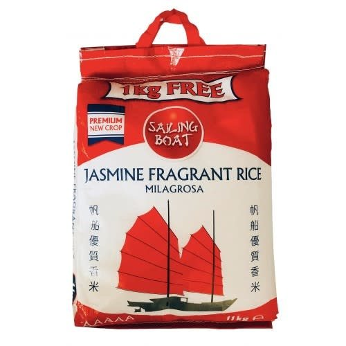 Sailing Boat Jasmine Rice 11kg