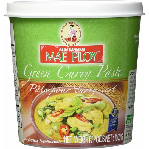 Mae Ploy Green Curry Paste 1kg Best Before 08/21