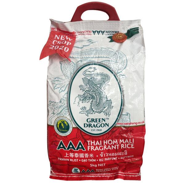 Green Dragon Jasmine Rice 5kg