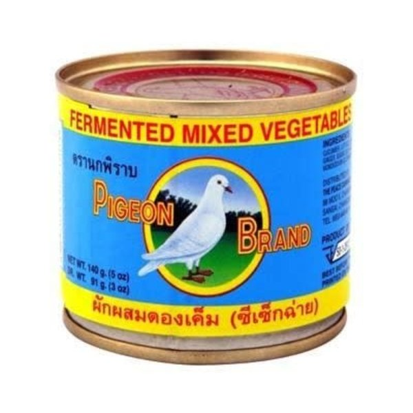 Pigeon Fermented Mixed Vegetables 140g Best Before 01/20