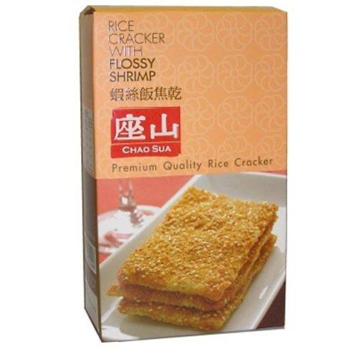 Chao Sua Shrimp Rice Cracker- Flossy  90g