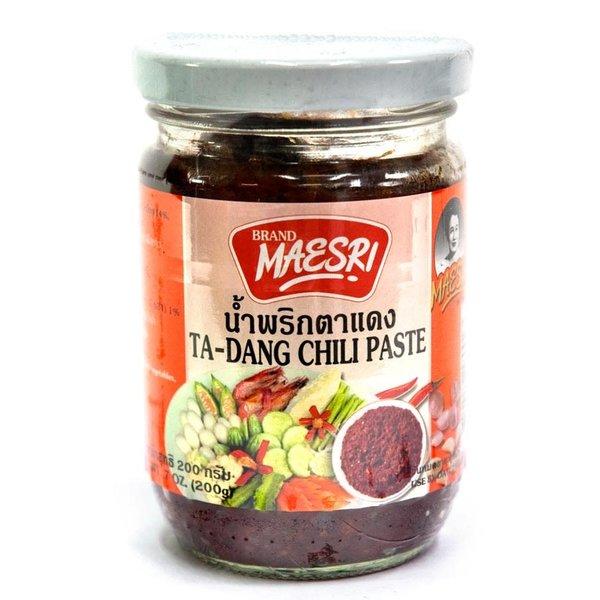 Maesri Ta Dang  Chili Paste 200g