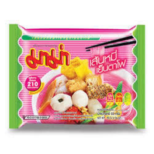 Mama Rice Vermicelli - Thai Bean Curd Yentafo Soup 55g Best Before 10/21