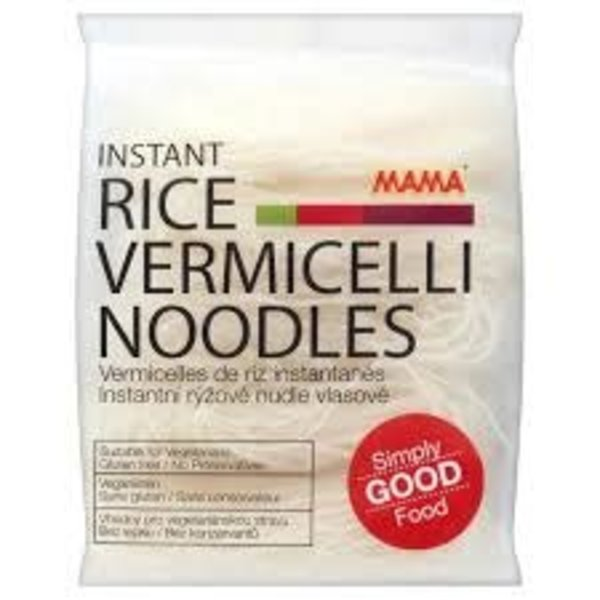 Mama Instant Rice Vermicelli Noodles / Gluten Free  225g