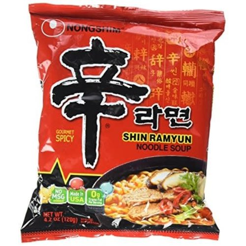 Nongshim Noodle Soup  - Shin Ramyun 120g