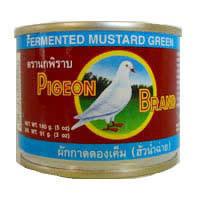 Pigeon Pickled Mustard Green 140g