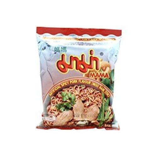 Mama Instant Noodles - Moo Nam Tok  55g