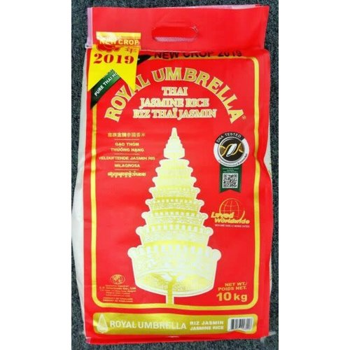 Royal Umbrella Jasmine Rice 10kg
