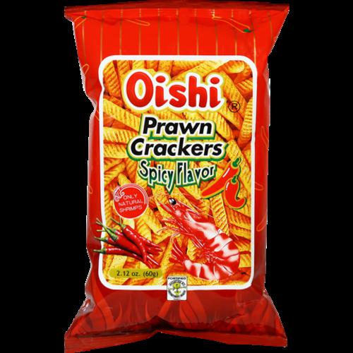 Oishi Prawn Crackers -Spicy 60g