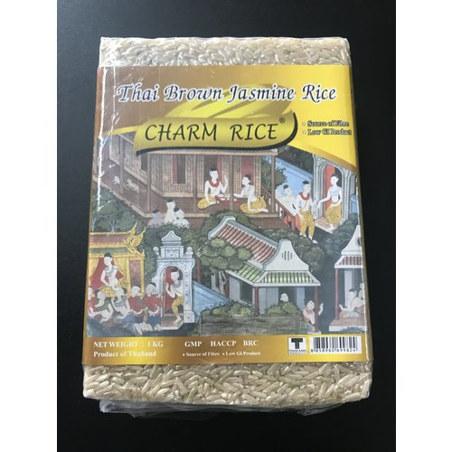 Charm Brown Jasmine Rice 1kg