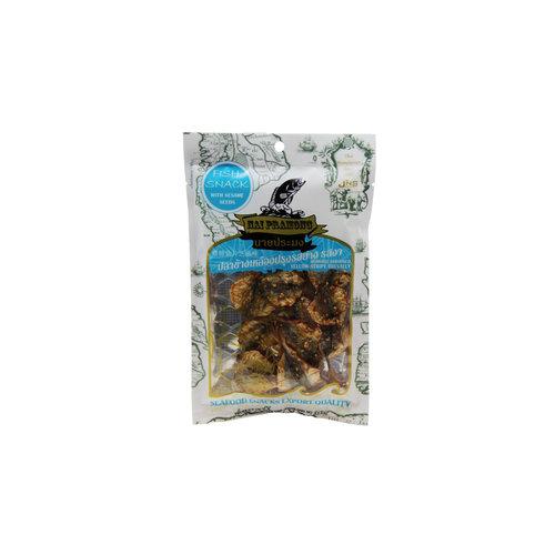 Nai Pramong Roasted Seasoned Yellow Stripe Trevally-Sesame 40g
