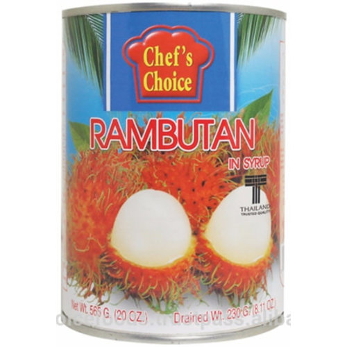 Chefs Choice Rambutan with Syrup 565g