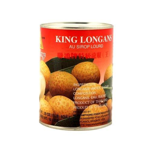 Lamthong Longan in Heavy Syrup 565g