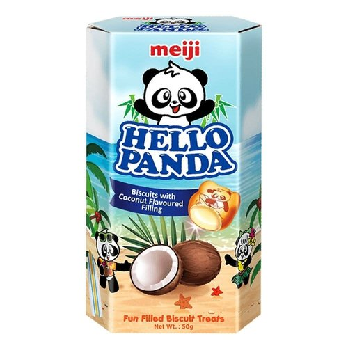 Meiji Hello Panda- Coconut 50g