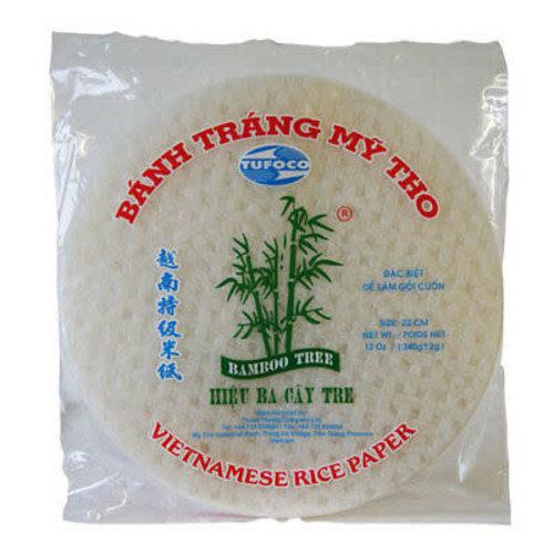 Bamboo Tree Vietnamese Rice Paper 22cm 340g