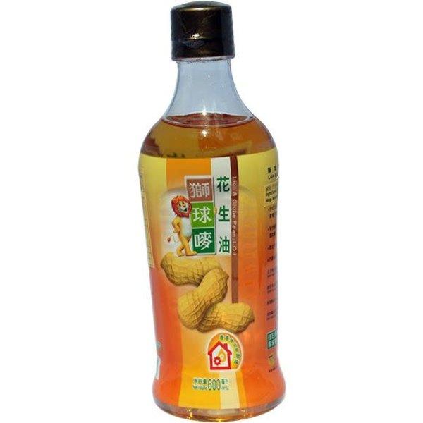Lion & Globe Peanut Oil 600ml