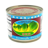 Pigeon Fermented Green Mustard Half in Soy Sauce 230g