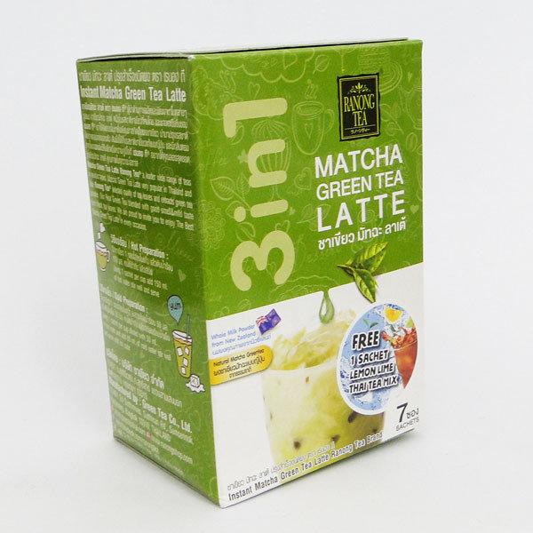 Ranong Tea Matcha Green Tea Latte Mix 7x23g 210g