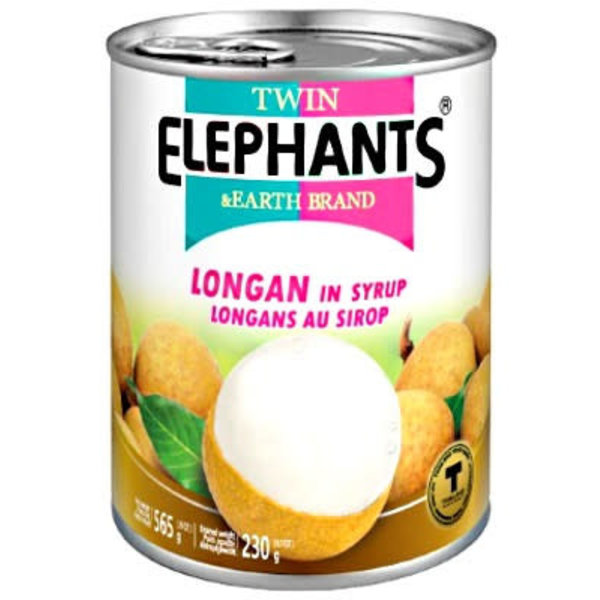 Twin Elephant Longan in syrup 565g