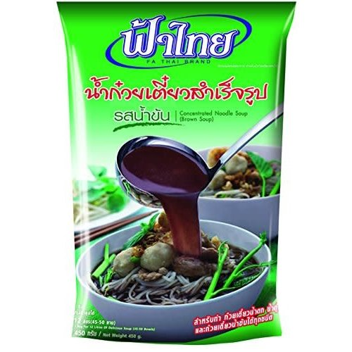 Fa Thai concentrated Noodle Seasoning Soup (Brown Soup) 350g