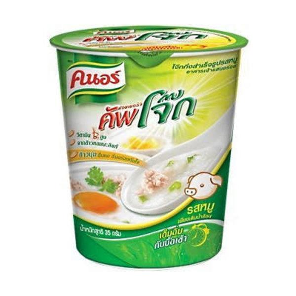 Knorr Instant Rice Porridge Cup / Pork 35g