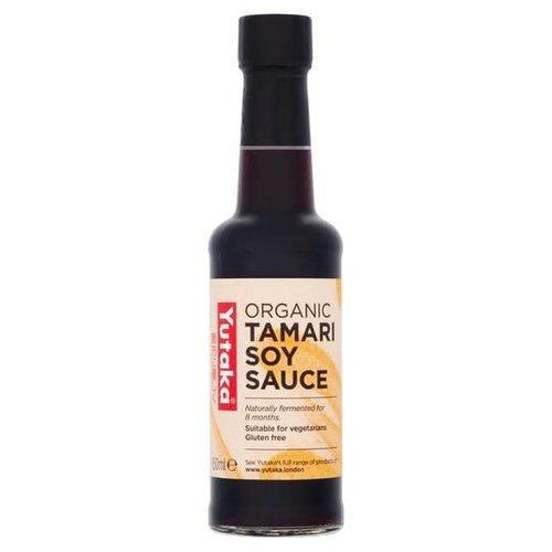 Yutaka Tamari Organic Soy Sauce 150ml Best Before 10/21