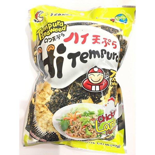 Tao Kae Noi Hi-Tempura Seaweed - Chicken LARB 40g